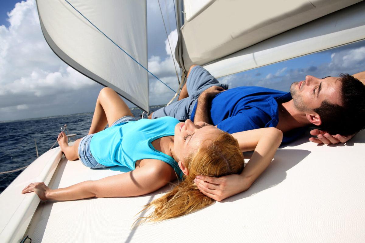 relaks na statku