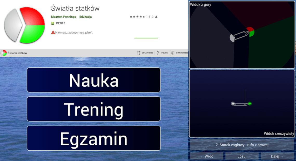 Aplikacja światła statków