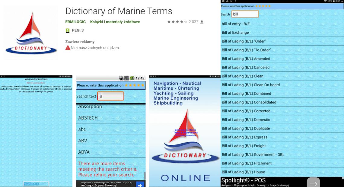 Terminy żeglarskie nauka