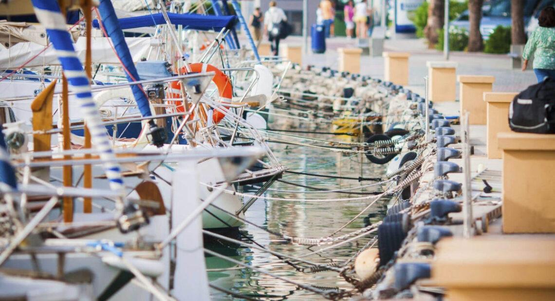 Jachty w porcie