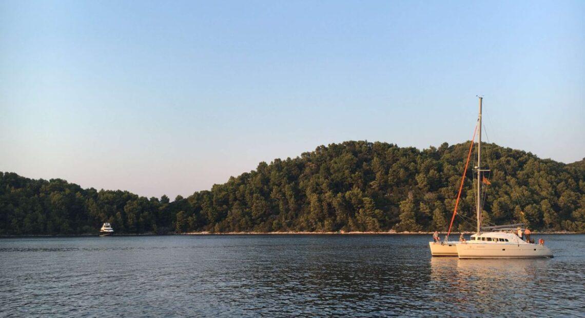 Jacht w Chorwacji