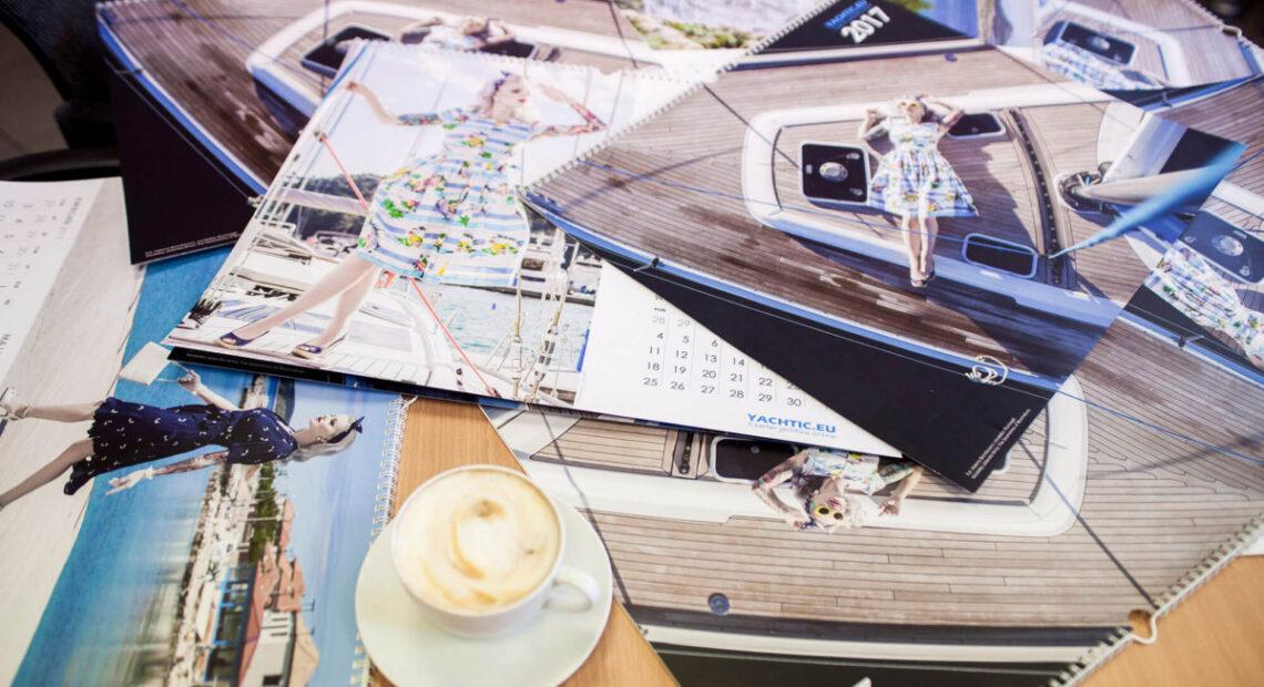 Kalendarz z jachtami