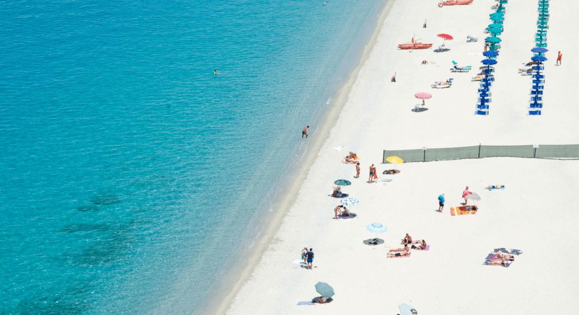 Piękne plaże Tropea