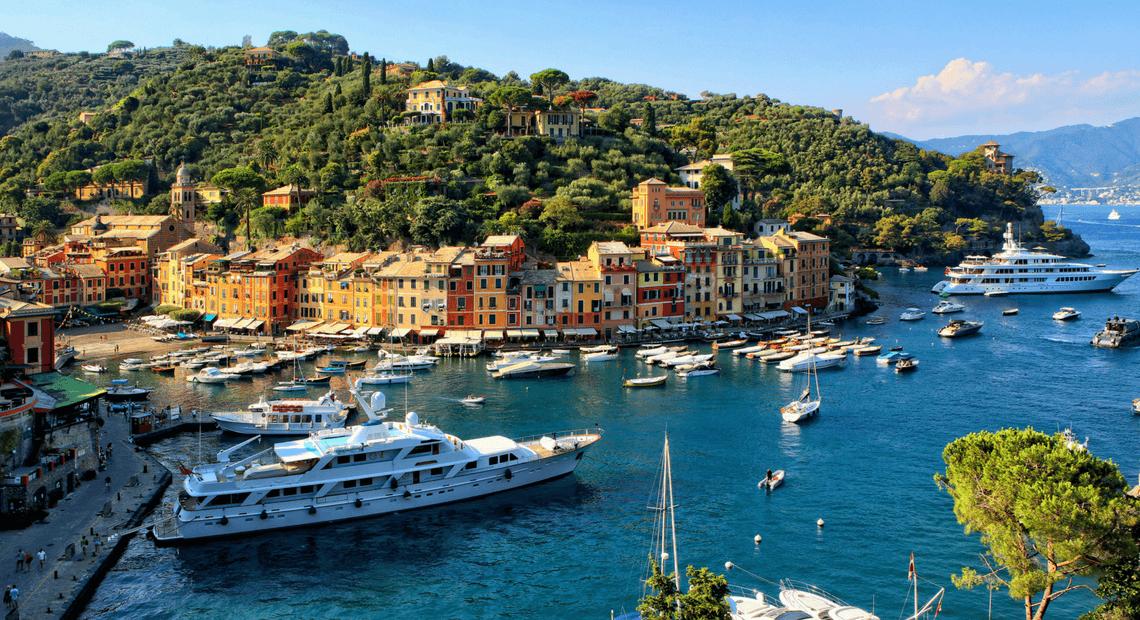 jacht we włoszech