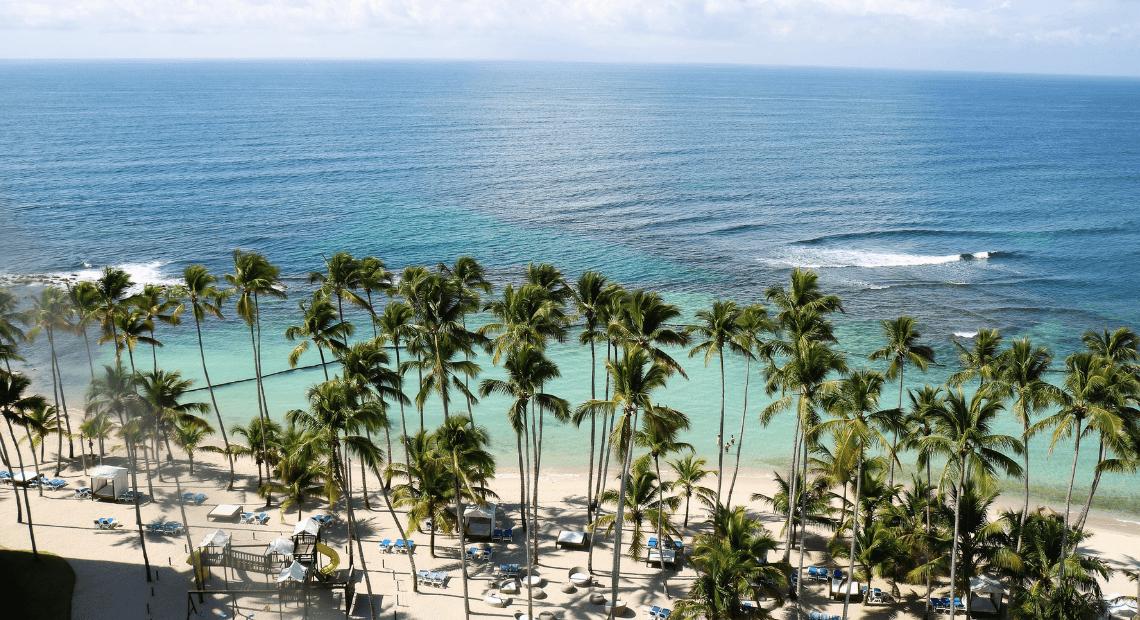 Zdjęcie morza na Karaibach