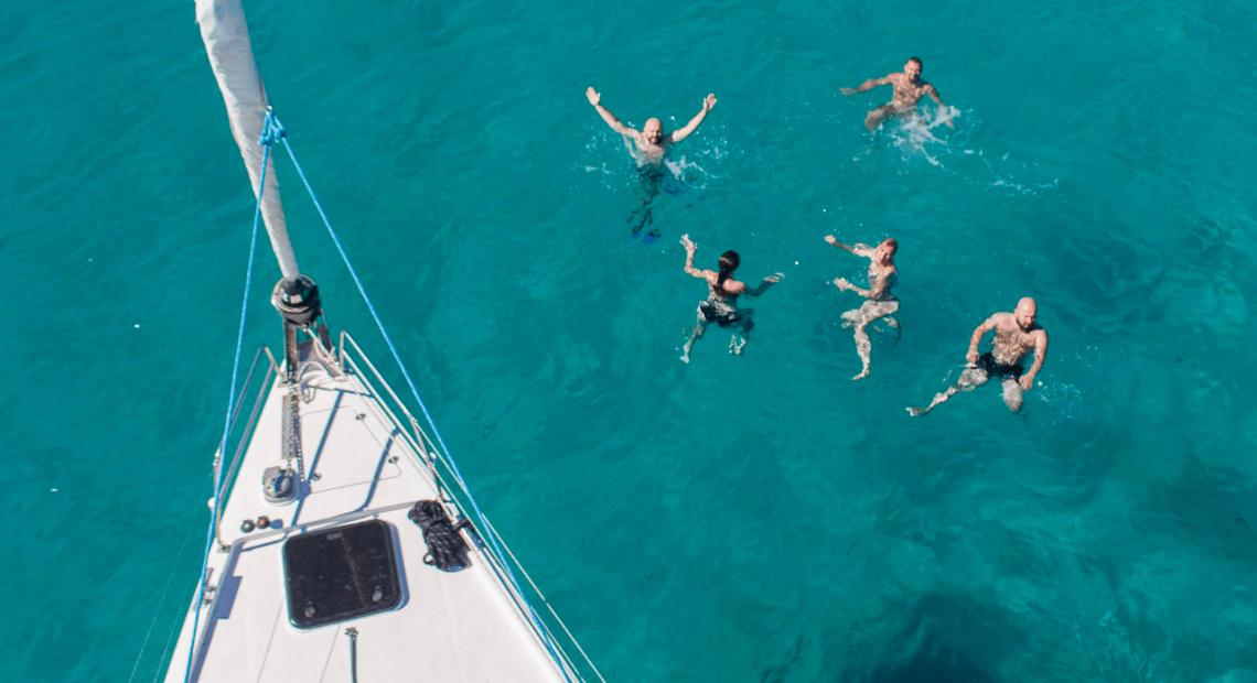 Blogerzy pływają